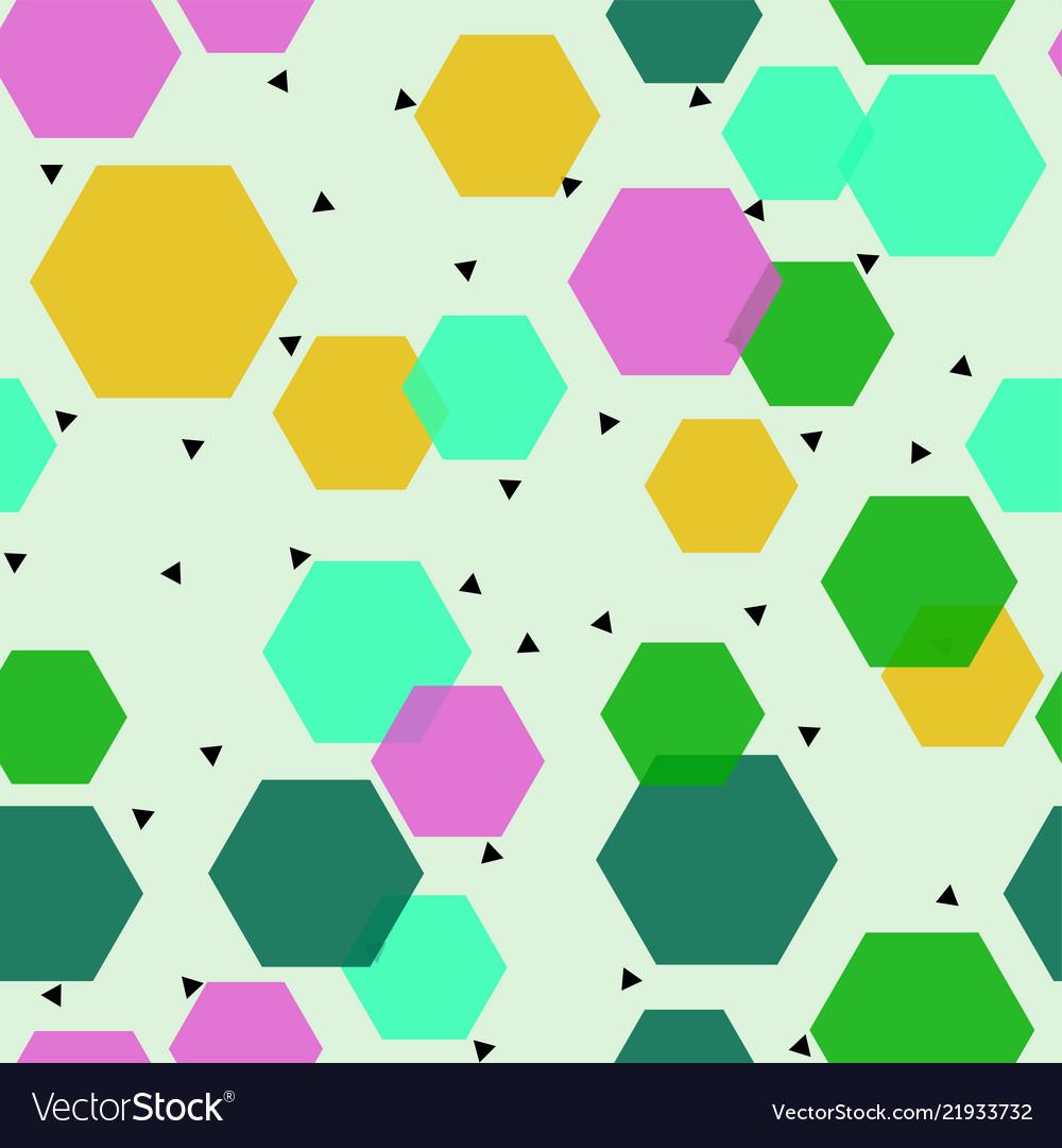 Abstract geometric design print pattern