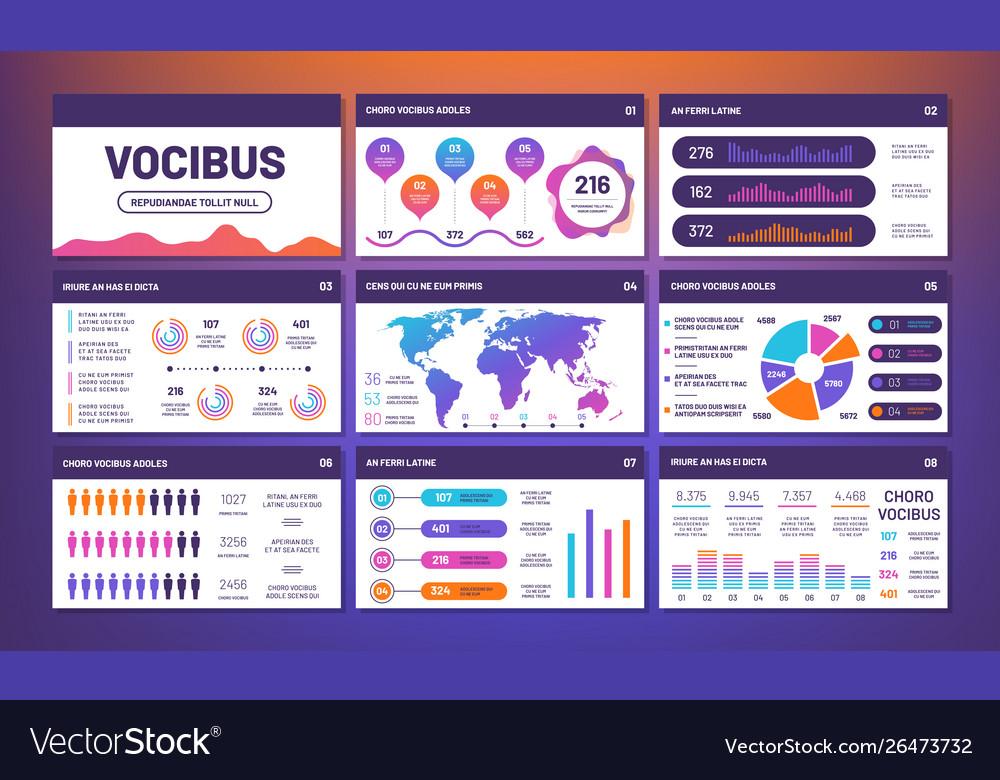 Modern infographics presentation template