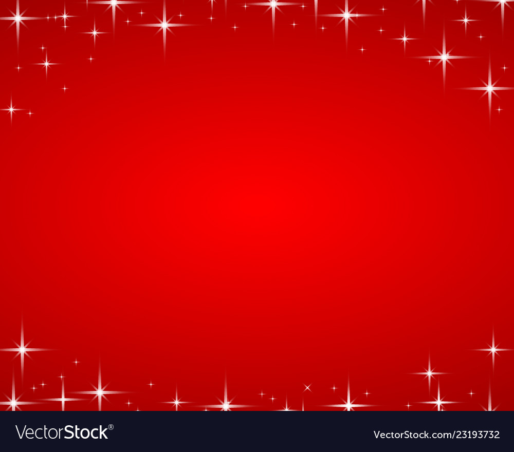 Red christmas background with highlights