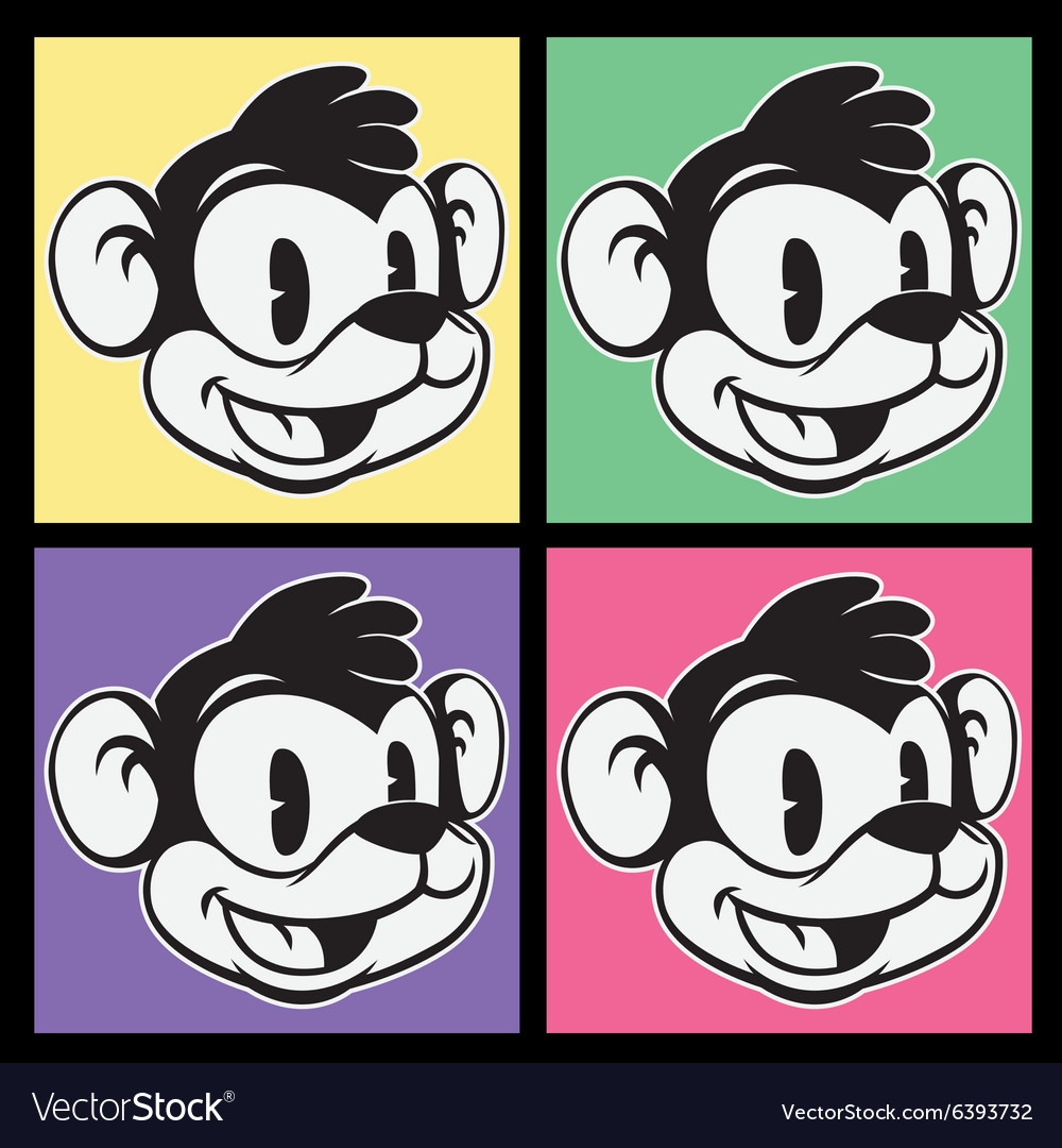 Vintage toons images of retro cartoon character