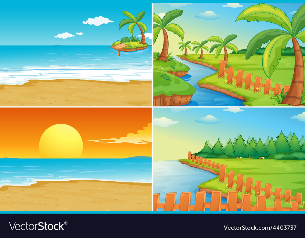 beach and river royalty free vector image vectorstock beach and river royalty free vector image vectorstock