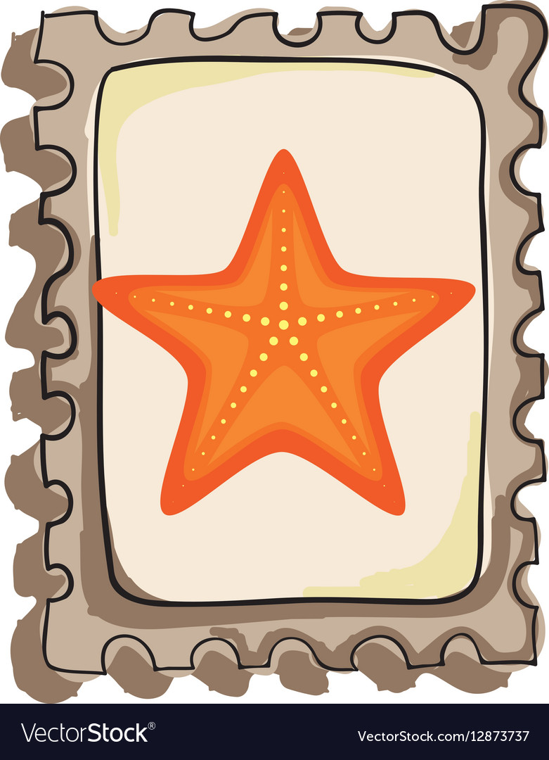 Star fish isolated icon