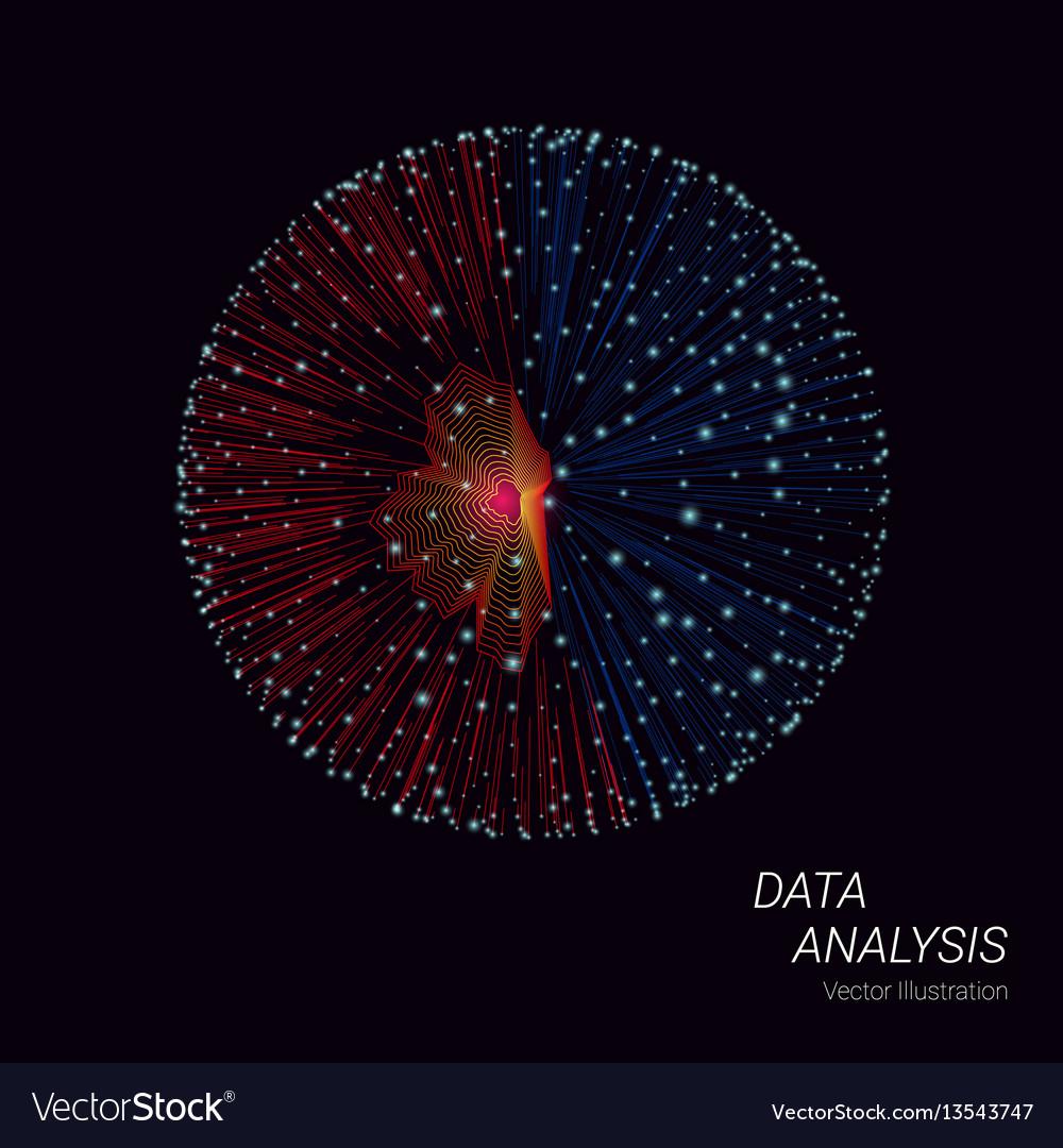 Big data design concept