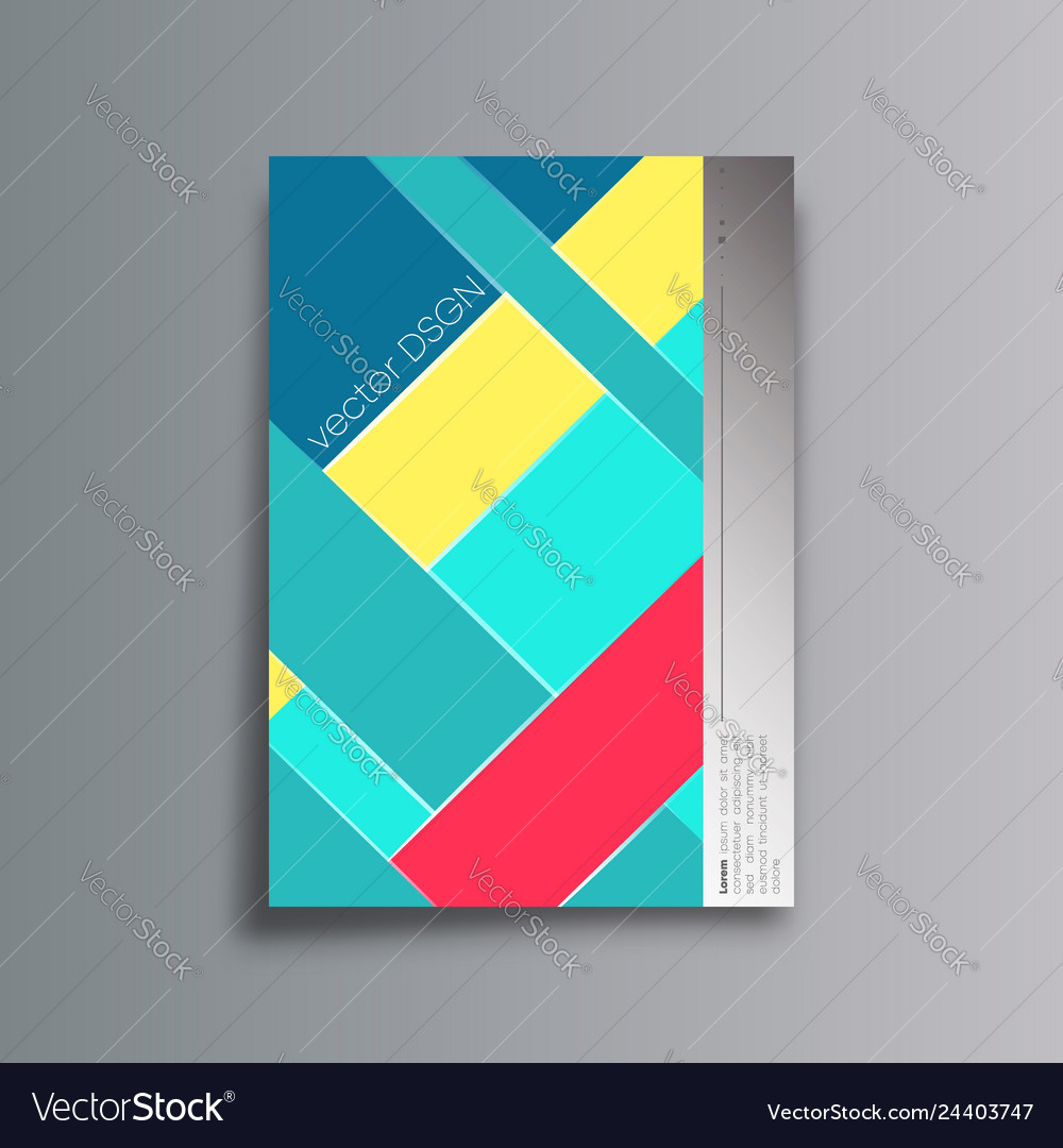 Colorful abstract background for the banner flyer