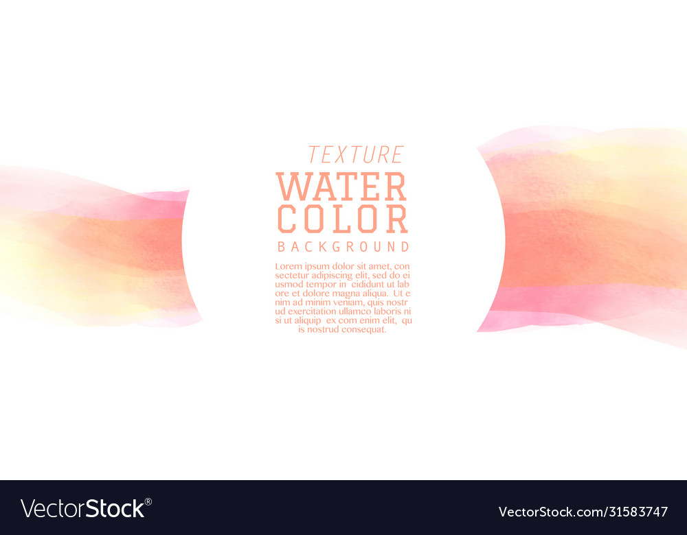 Light red tone watercolor brush background