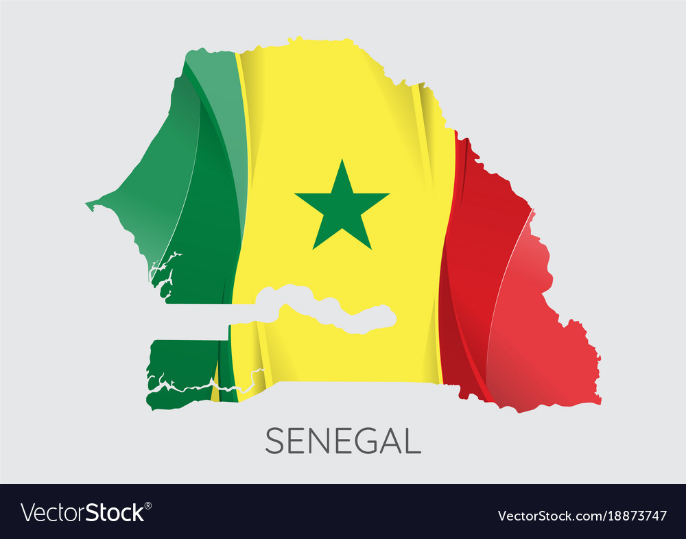 Map of senegal