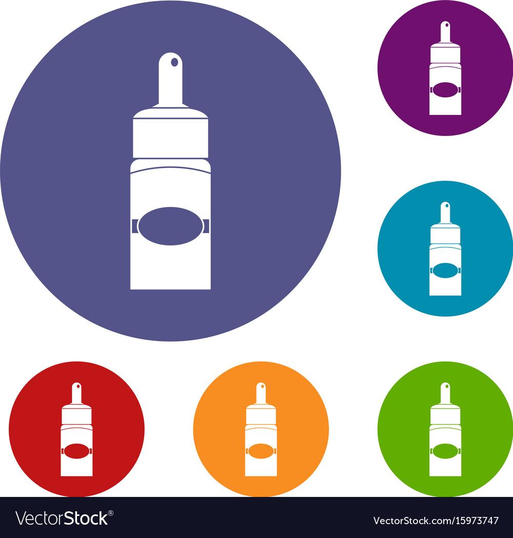 medical drops icons set royalty free vector image rh vectorstock com medical vector term medical vector graphics
