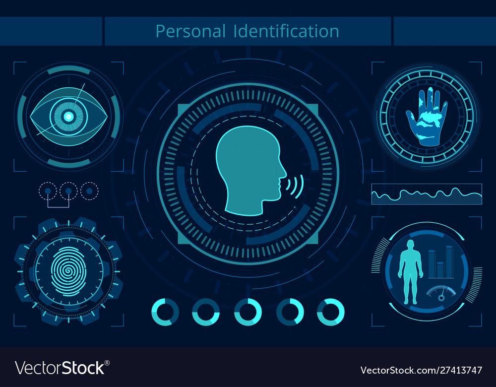 Personal identification flat