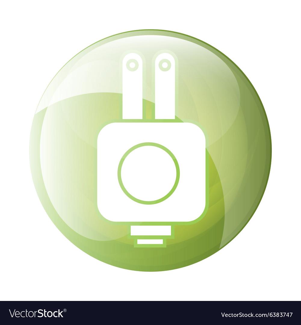 Plug icon symbol design