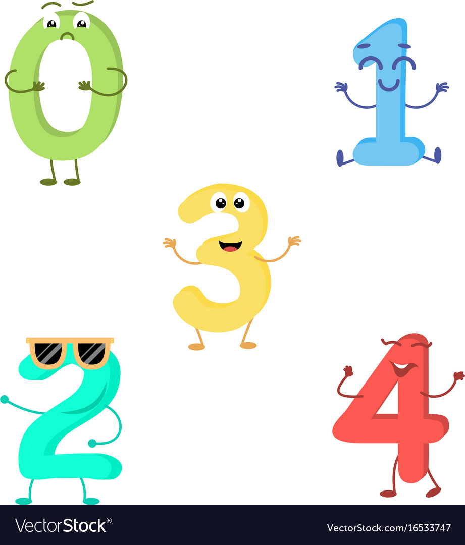 Set of funny characters from numbers