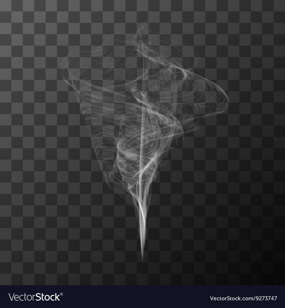 Transparent white smoke object