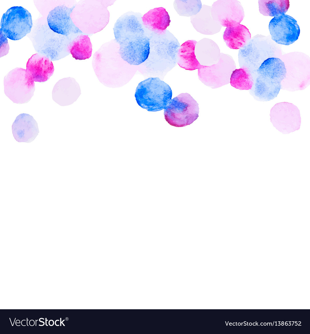 Abstract colorfull handdrawn watercolor background