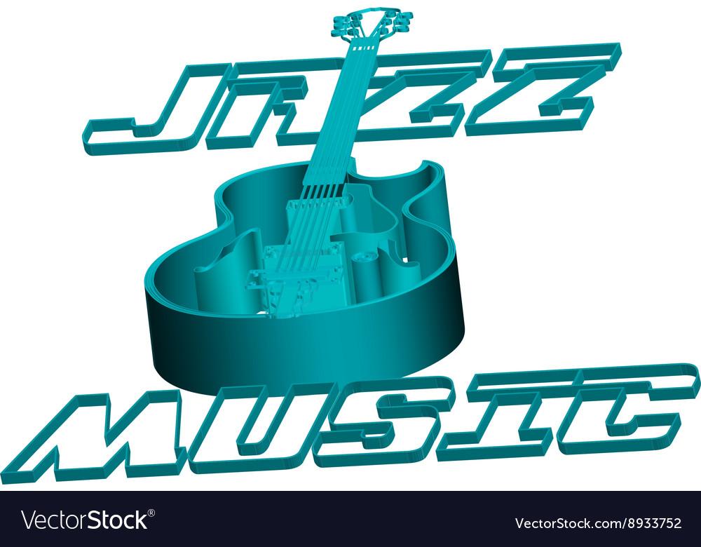 Jazz guitar music circuit