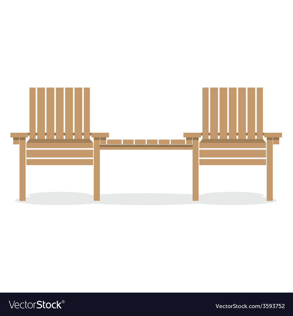 Wooden Garden Chairs With Table Royalty