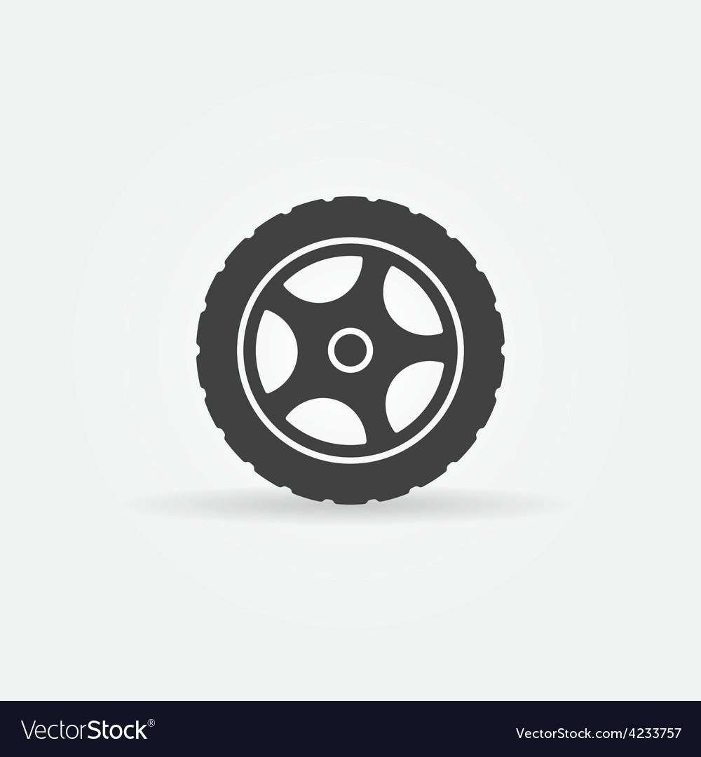 Tire icon or logo