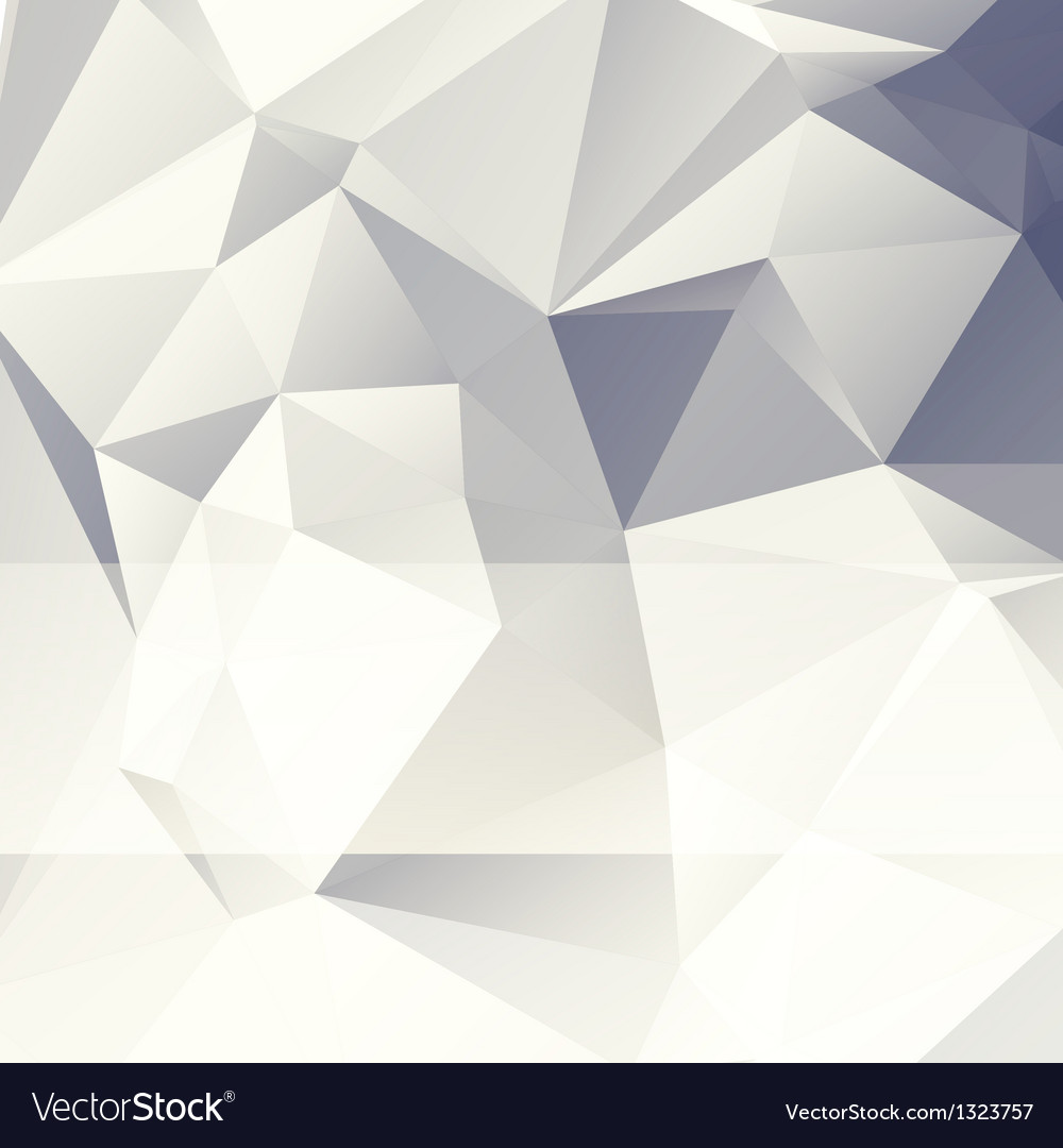 Triangular style paper abstract background vector image