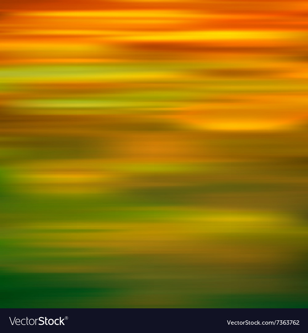 Abstract green yellow motion blur background
