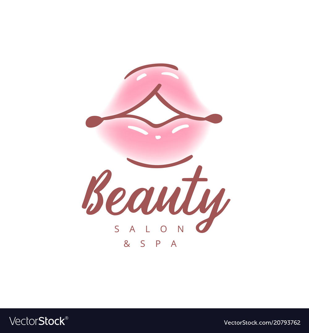 Colorful womens lips abstract vector image