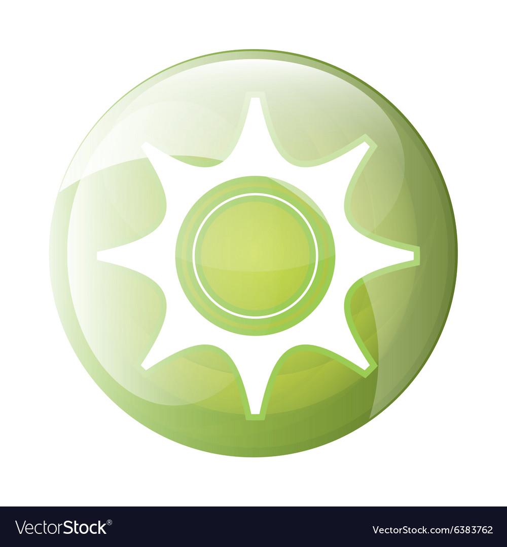 Gear icon symbol design