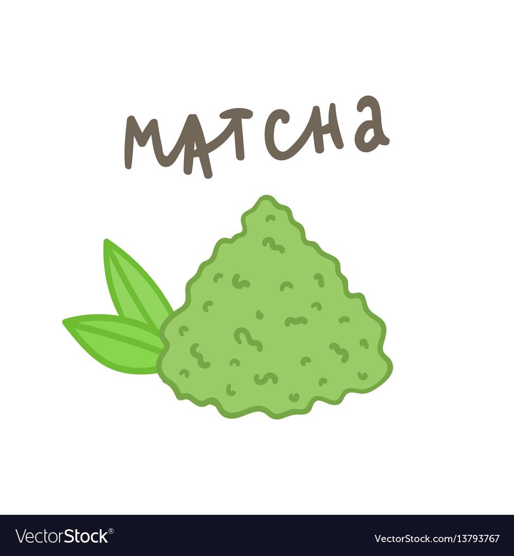 Matcha powder superfood