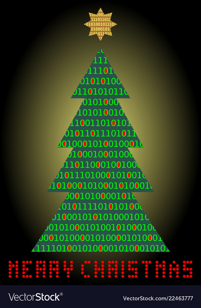 Christmas Tree Cards Designs.Christmas Tree Digital Designed Christmas Card