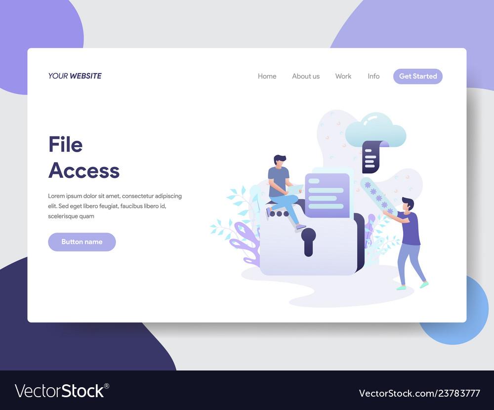 File access concept
