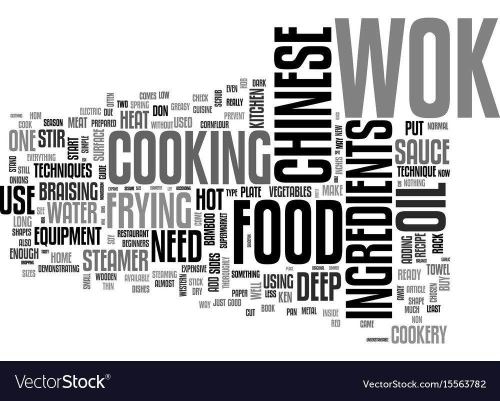 A beginners guide to chinese cookery text word
