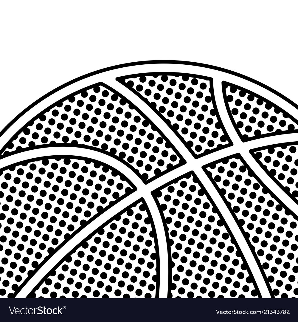 Black dotted basketball background