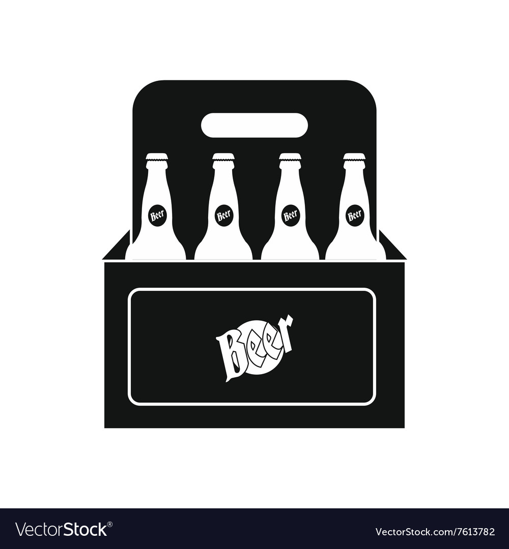 Packaging With Beer Icon Royalty Free Vector Image Search icons & icon packs search icons search icon packs. vectorstock