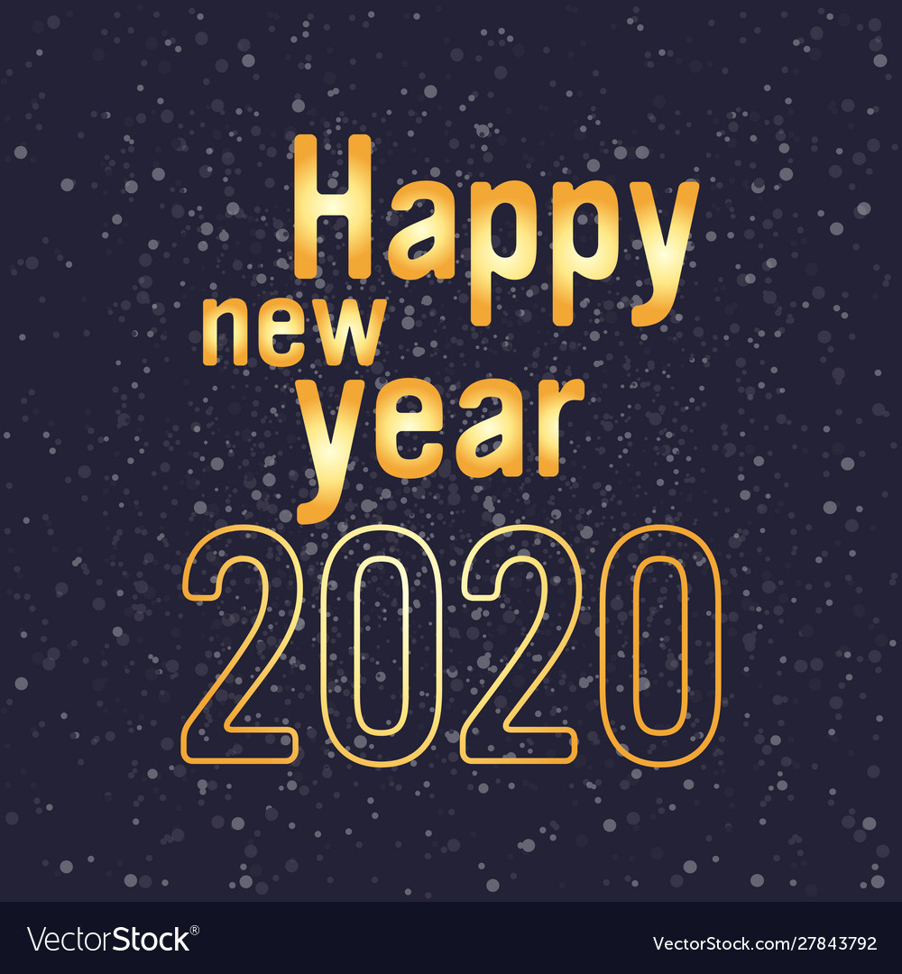 2020 happy new year merry christmas holiday