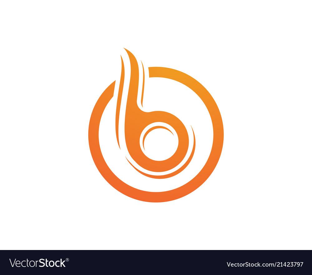 B letter icon design