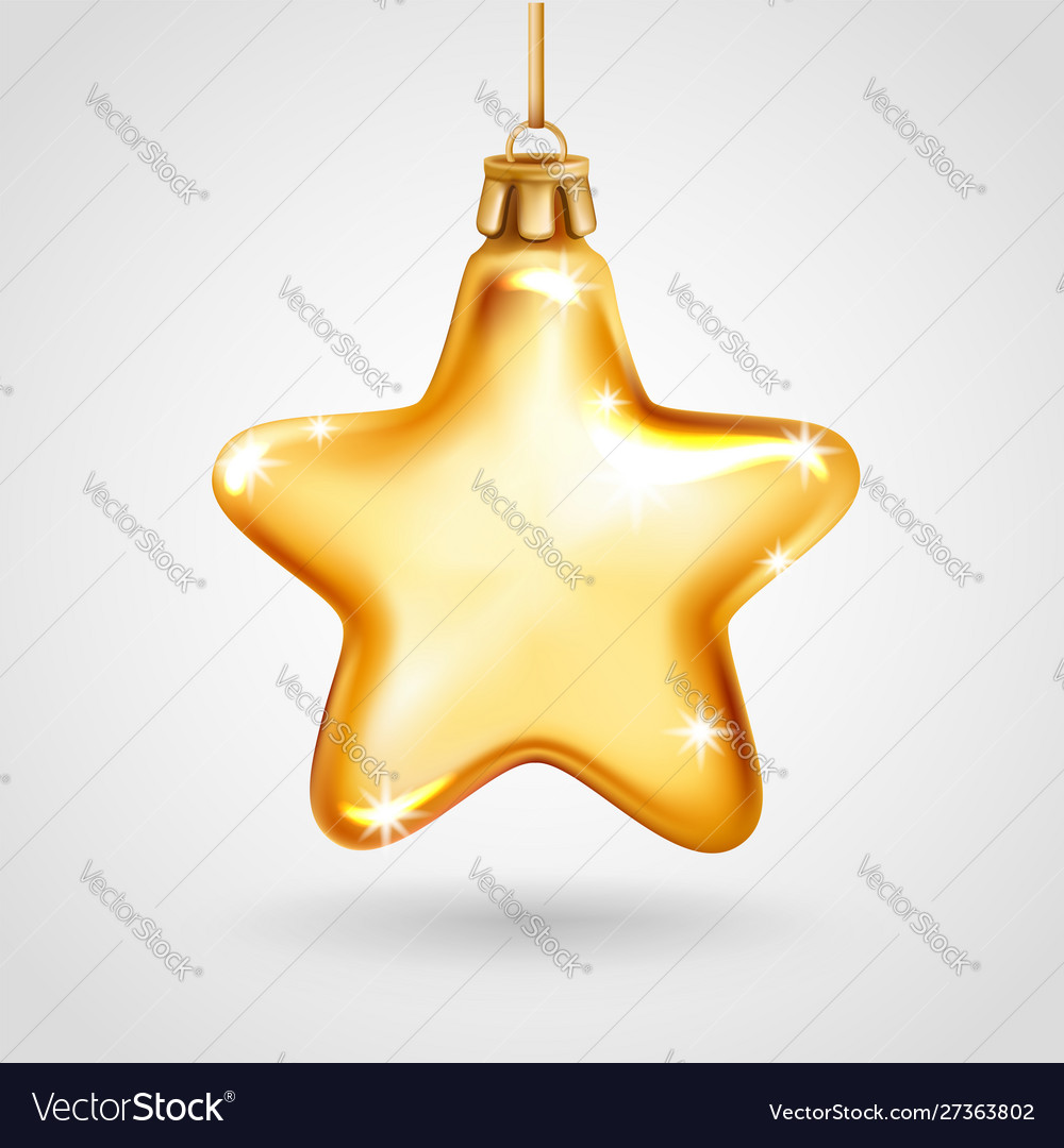 A Star For Christmas 2020 Christmas decoration 2020 star Royalty Free Vector Image