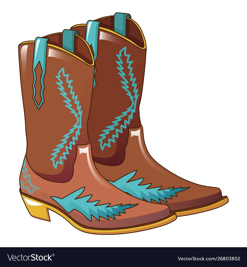 無料ダウンロード Cowboy Boots Cartoon - ガジャフマティヨ - photo#7