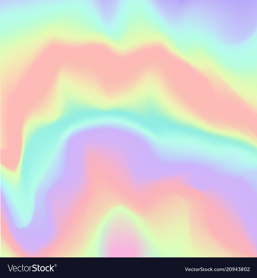 Holographic background blurred gradient