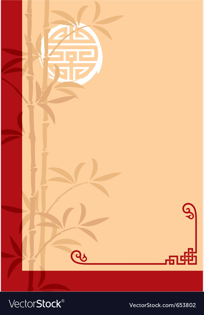 Oriental template layout