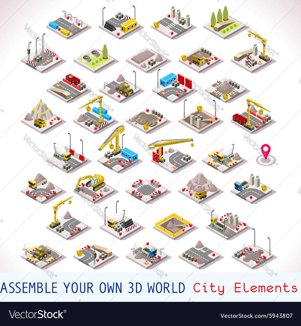 Game Set 02 Building Isometric