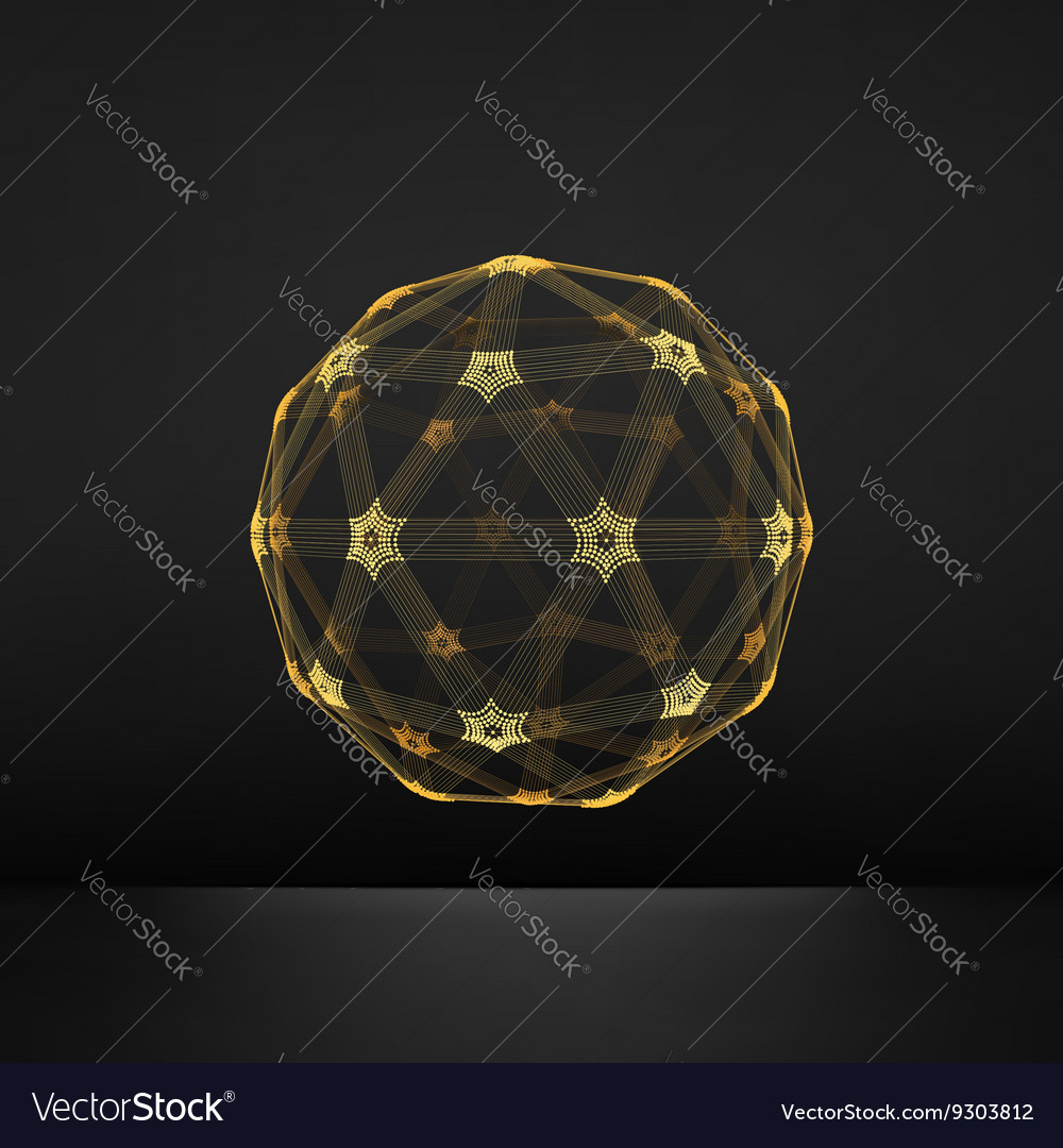 3d Sphere Global Digital Connections Technology