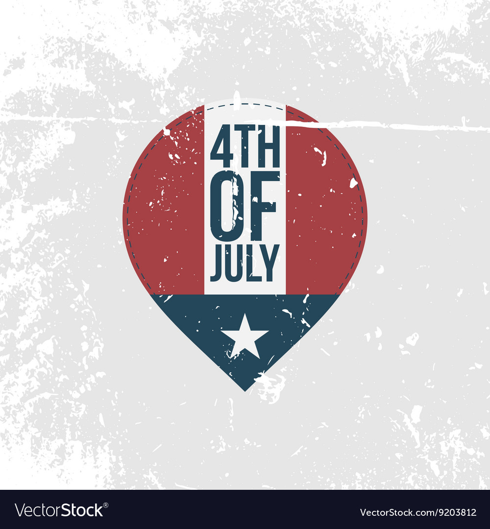 Independence Day 4th of July vintage Banner