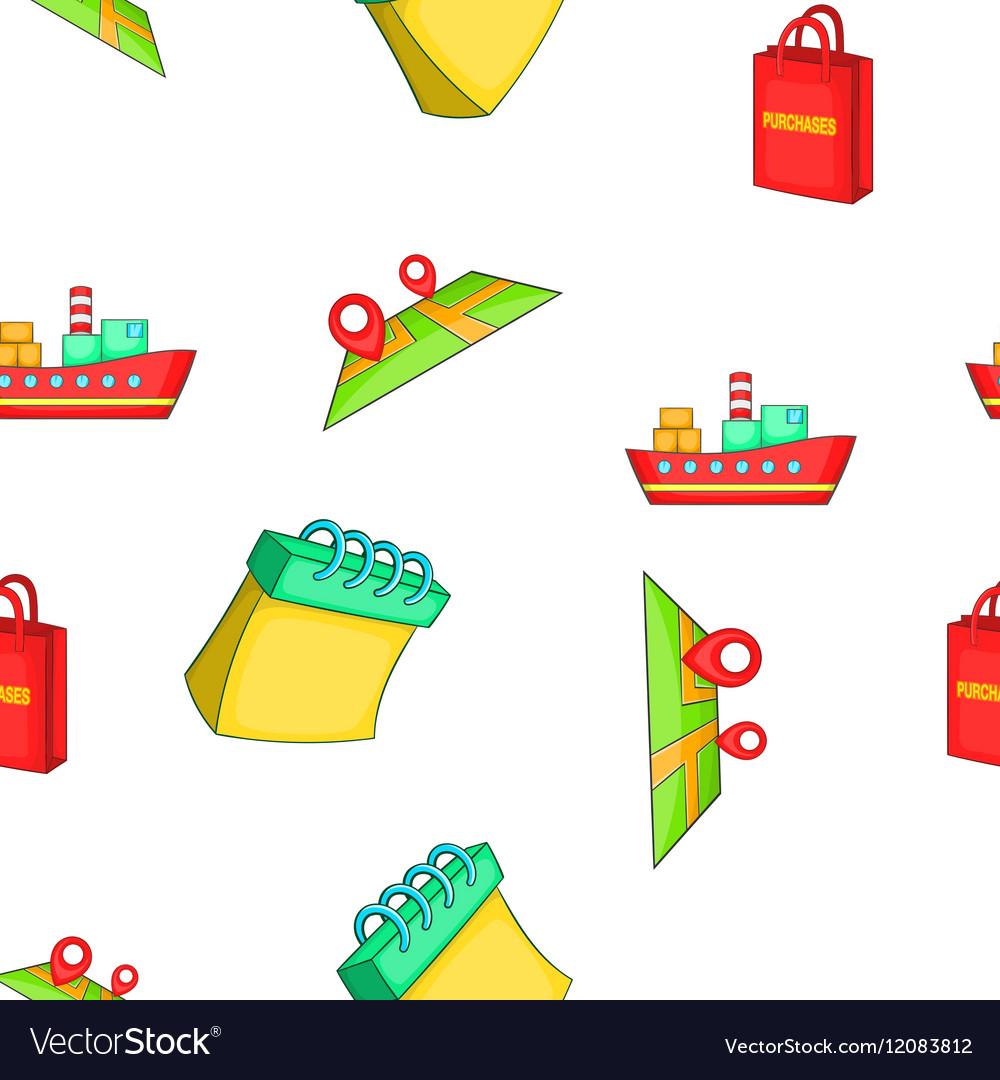 Transfer pattern cartoon style