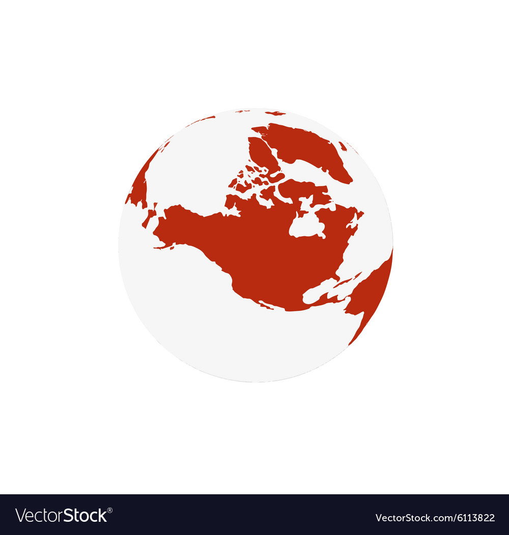 Modern elements World Map