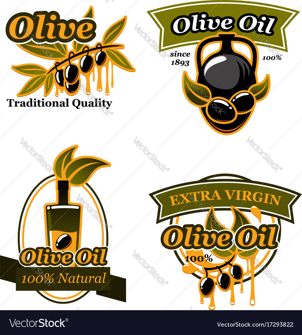 Olive oil extra virgin products design