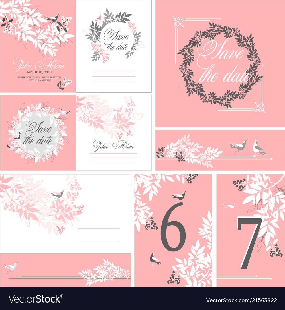 Wedding printing set