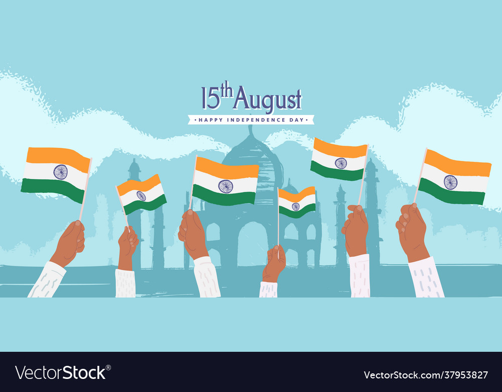 Celebration happy india independence day 15th