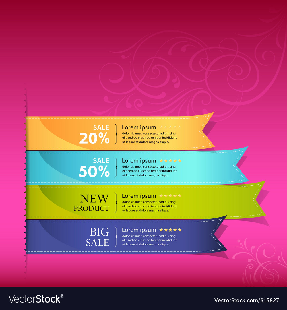 Colorful ribbon promotional products