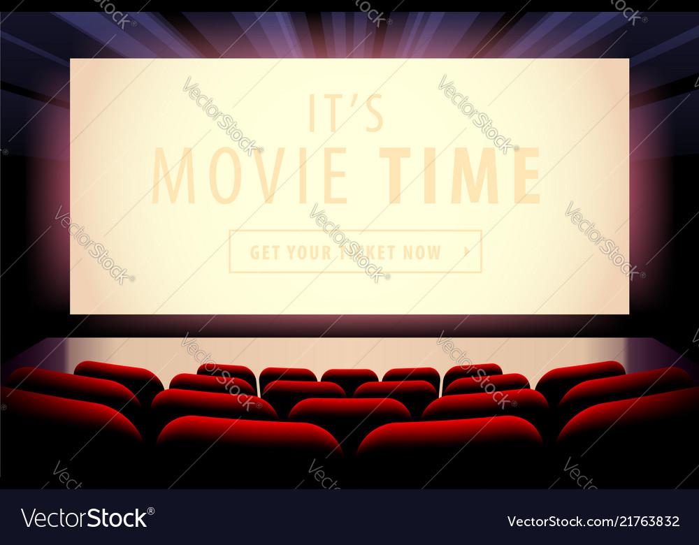 Cinema screen view