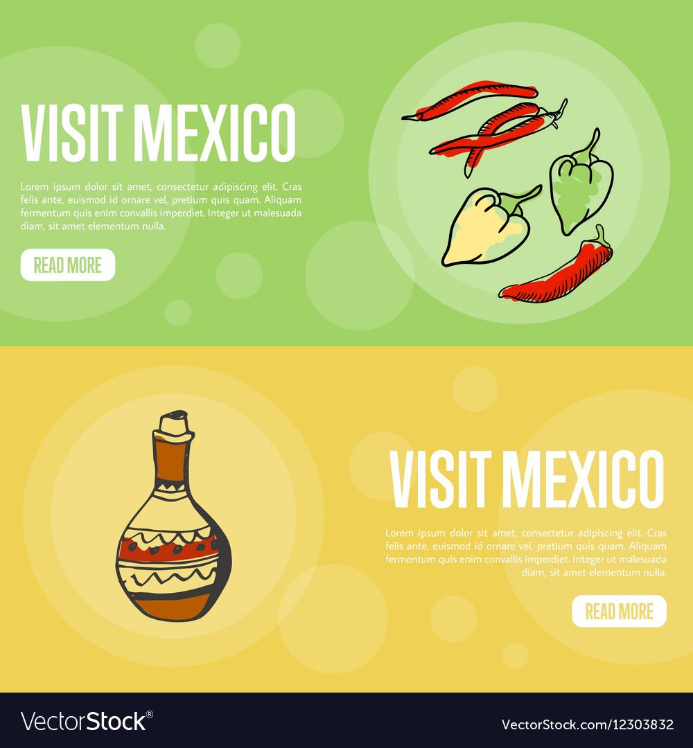 Visit Mexico Touristic Web Banners