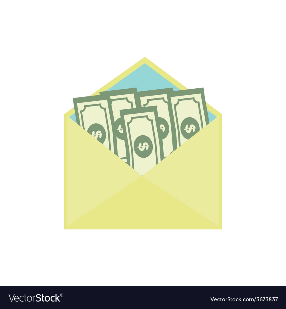 Bribe Flat Icon Corruption Concept