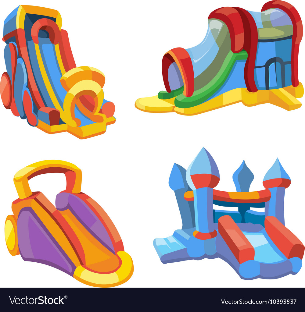 Inflatable castles and