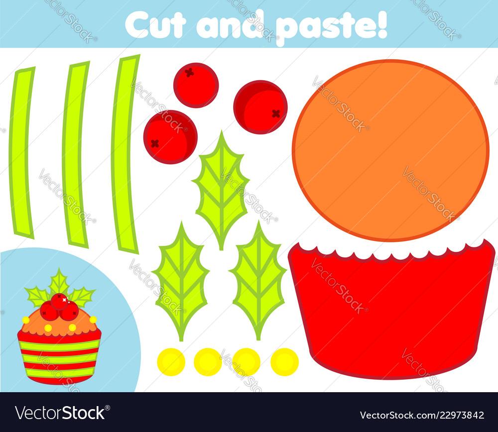 Creative children educational game paper cut