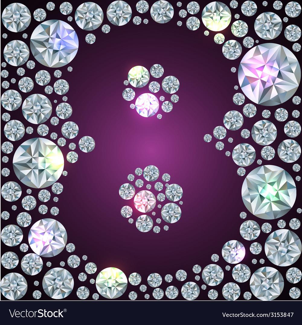 Diamond number eight